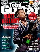 Matt Bellamy of MUSE  - Total Guitar cover. July 2015