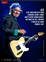Keith Richards in Guitar Tricks Insider Magazine