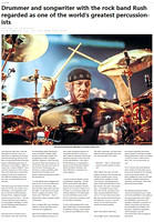 "My Neil Pearl image in  ""The Guardian""."