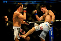 UFC 152 - Michael Bisping wins decision over Brian Stann