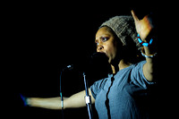 Erykah Badu Performs in Toronto