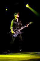 TOMMY MAC, bass player of Canadian rock band HEDLEY performes live at Air Canada Centre, Toronto