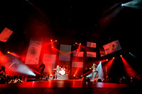 Canadian rock band HEDLEY performes live at Air Canada Centre, Toronto