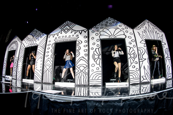 'Fifth Harmony' Perform in Toronto