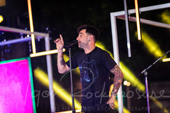 MMVA 2012 in Toronto - HEDLEY Rehearsals