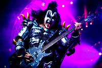 KISS Perform in Toronto