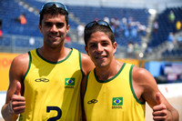 PanAm2015 - Men's Beach Volleyball Brazil-Aruba