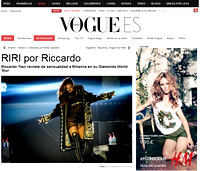Rihanna at VOGUE Spain