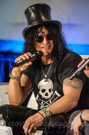 SLASH interview at CMW