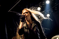 The Agonist Performs in Toronto
