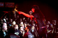 Anthrax Performs in Toronto