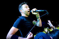 Rise Against Performs in Toronto